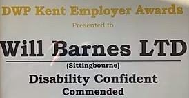 Will Barnes wins DWP Award!